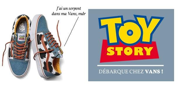 Toy Story débarque chez Vans!