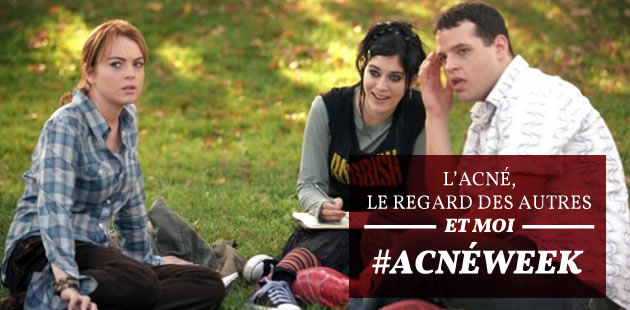 L'acné, le regard des autres et moi — #AcnéWeek
