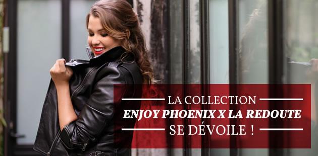 La collection Enjoy Phoenix x La Redoute — Les coulisses en vidéo