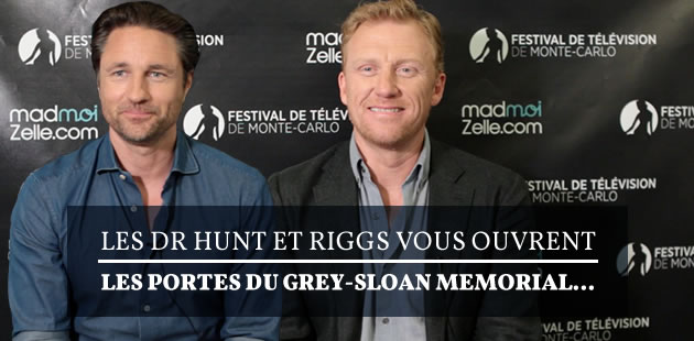 Les Dr Hunt et Riggs vous ouvrent les portes du Grey-Sloan Memorial…