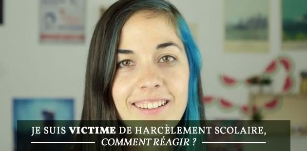 Je suis victime de harcèlement scolaire, comment réagir ?