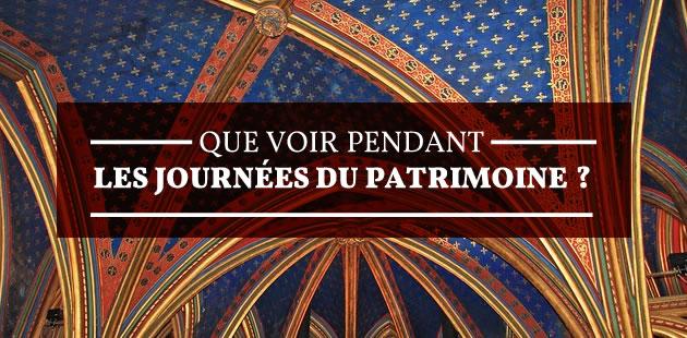 Tour de France des monuments à voir pendant les Journées du Patrimoine