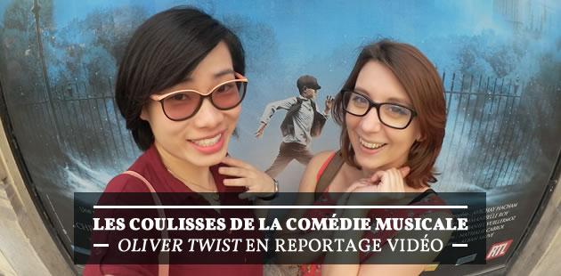 Les coulisses de la comédie musicale « Oliver Twist » (et notre critique!)