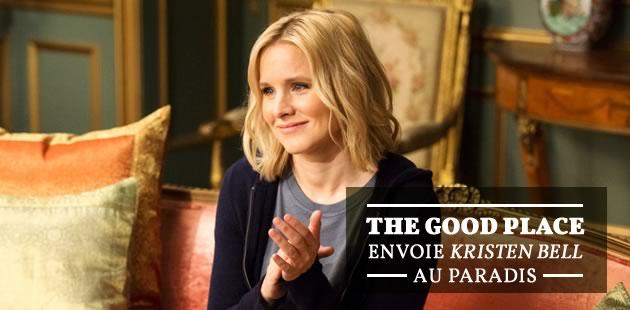 « The Good Place » envoie Kristen Bell au paradis… mais va-t-elle y rester ?
