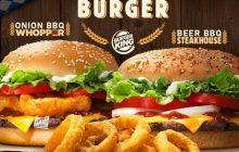 Burger King lance des burgers àla bière à l'occasion de l'Oktoberfest!