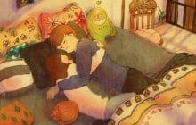 «Love is…», des illustrations qui rappellent que l'amour est fait de petites choses