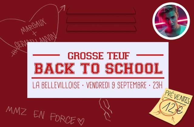 Get the Look — Spécial Grosse Teuf «Back To School»