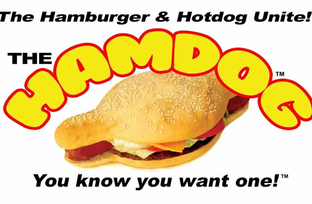 Le Hamdog, le sandwich mi hot-dog, mi hamburger, et à nouveau mi-hot-dog