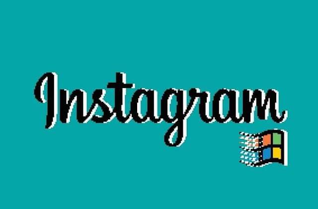 Instagram devient vintage façon Windows 95