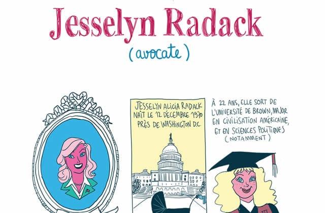 Jesselyn Radack, avocate et lançeuse d'alerte — Les Culottées,  par Pénélope Bagieu
