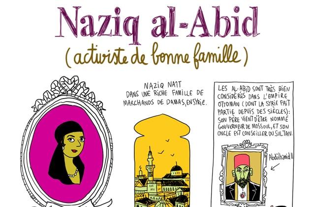 Nazik al-Abid, la Jeanne d'Arc du Levant — Les Culottées, par Pénélope Bagieu