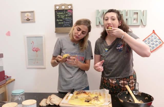 On mange quoi ? Du camembert au four avec Marion Seclin!