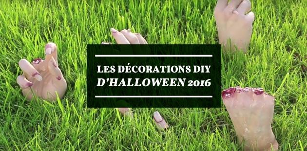 Décorations DIY pour Halloween 2016