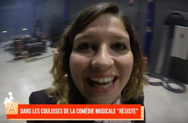 La très drôle Marine Baousson fait découvrir les coulisses de la comédie musicale Résiste