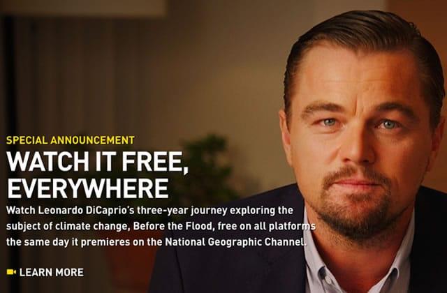 Leo DiCaprio mouille le maillot dans «Avant le déluge», son nouveau film