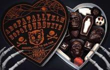 La boîte de chocolats la plus cool d'Halloween