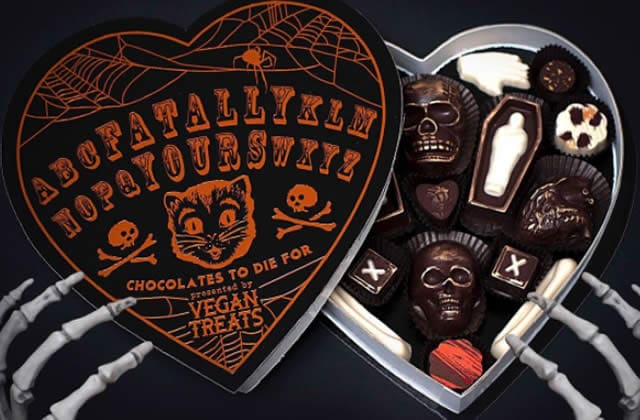 La boîte de chocolats la plus cool d'Halloween