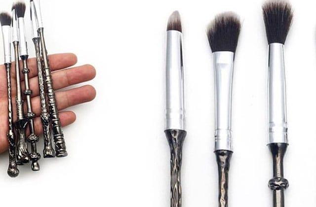 Des pinceaux de maquillage Harry Potter pour que la magie opère !