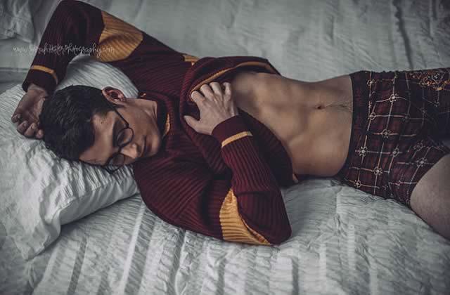 Harry Potter inspire un photoshoot sexy:20 points pour Gryffondor