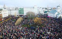 Les Islandaises arrêtent de travailler pour protester contre les inégalités salariales