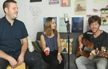 Ladybug and the Wolf joue Little Old Man en session acoustique