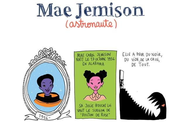Mae Jemison, astronaute et chercheuse infatigable — Les Culottées, par Pénélope Bagieu