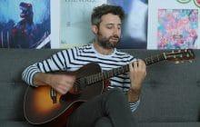 Louis-Jean Cormier joue Si tu reviens en session acoustique