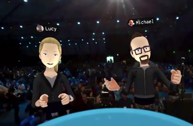 Mark Zuckerberg présente sa vision de la réalité virtuelle