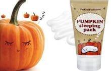 Le masque de nuit à la citrouille Too Cool for School pour Halloween!