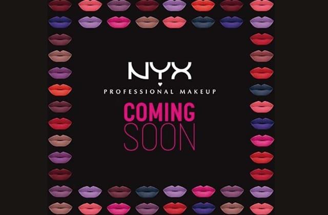 NYX débarque chez Monoprix!