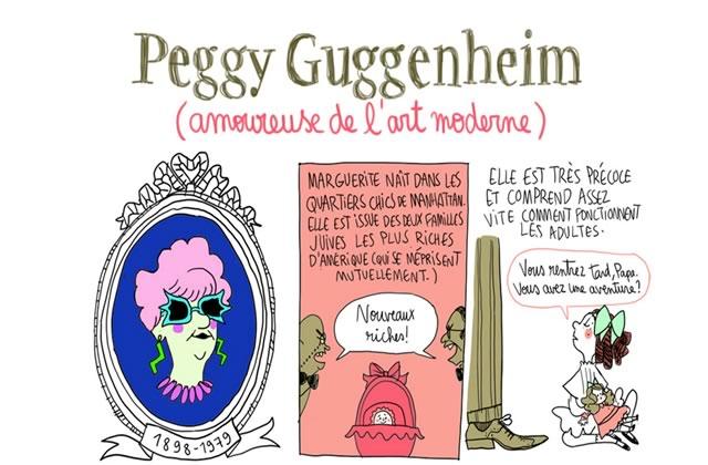 Peggy Guggenheim, amoureuse de l'art moderne—Les Culottées, par Pénélope Bagieu