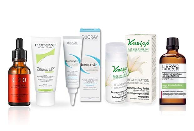 5 produits « magiques » contre l'acné