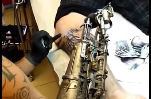 La prothèse-dermographe, impressionnante innovation