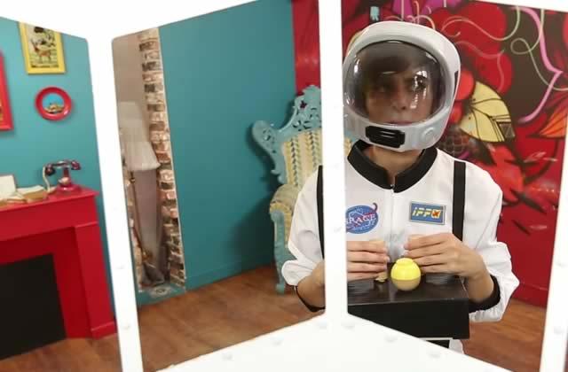 Marion Seclin est Valentina Terechkova dans l'épisode 2 des Scienceuses (avec Florence Porcel)!
