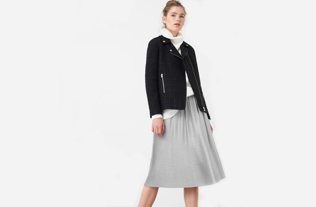 Comment porter la jupe plissée soleil?