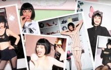 Chantal Thomass s'associe à Damart pour une collection cabaret spéciale frileuses
