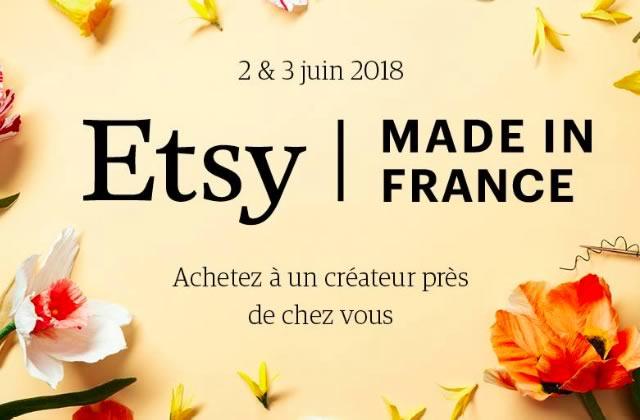 Pars à la rencontre des créatrices et créateurs Etsy ce week-end!