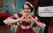 Les Scienceuses met Marion Seclin dans la peau d'Ada Lovelace, pionnière de la programmation
