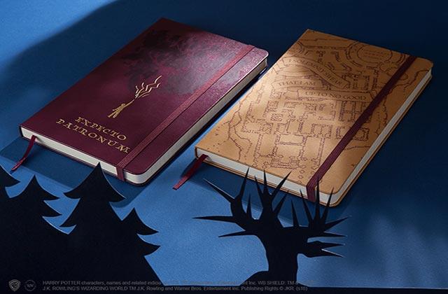 Le retour des Moleskine Harry Potter (carnets et agendas)!