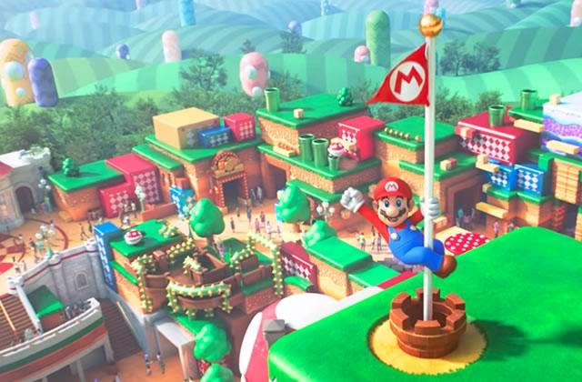 Le parc d'attractions Nintendo au Japon a sa première vidéo!