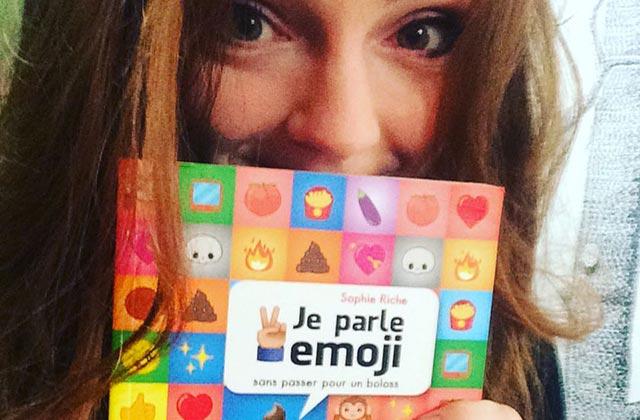 Sophie Riche sort son premier livre, et ça parle… d'emoji !