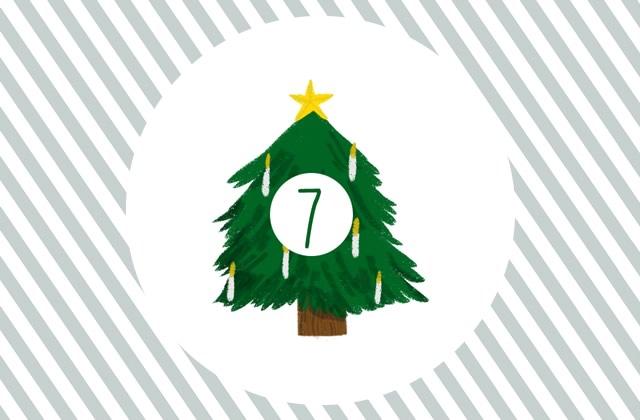 De jolies cartes de voeux à envoyer ou à encadrer ! — Calendrier de l'Avent (jour 7)