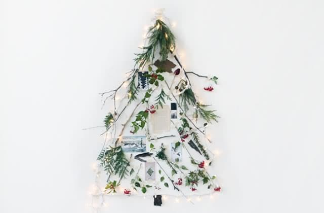 8 alternatives au sapin de Noël classique