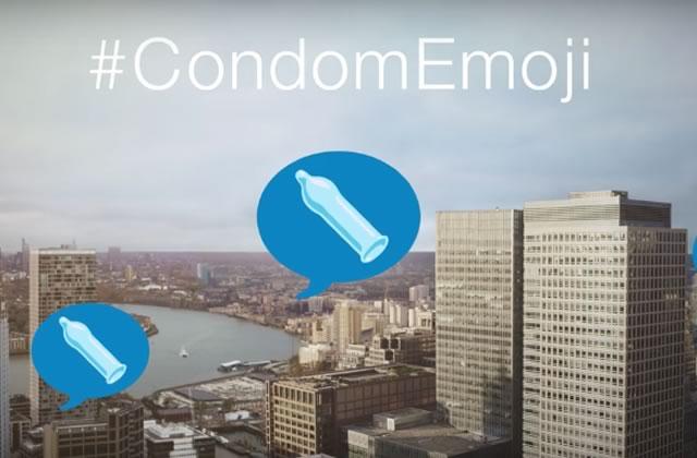 Il n'y a pas d'émoji préservatif, du coup on improvise