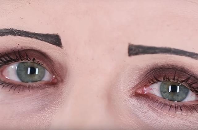 histoire des sourcils et leurs maquillages travers les ges. Black Bedroom Furniture Sets. Home Design Ideas