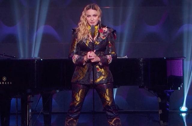 Madonna dénonce le sexisme et encourage la solidarité féminine lors des Billboard Women inMusic2016