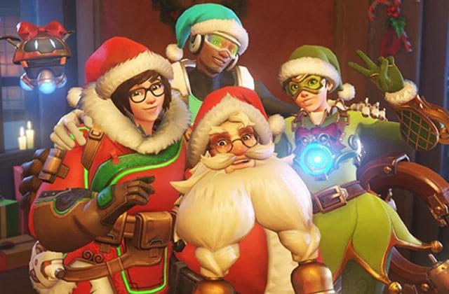Overwatch lance son événement de Noël, à base de sapins et de neige à foison