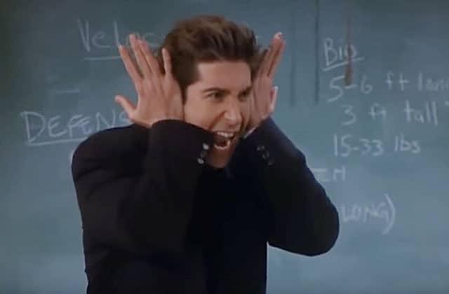 Ross Geller a sa page «Rate my professor»… et les commentaires sont hilarants