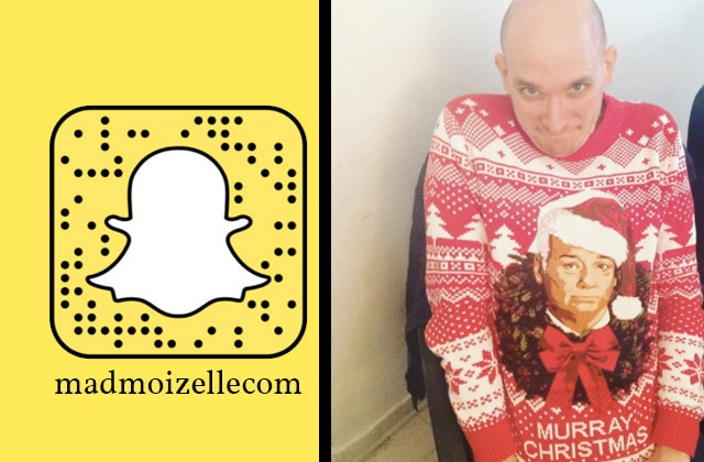 Participe au #DéfiSnapMad «Pull de Noël» sur le SnapChat madmoizellecom!