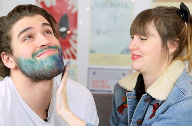 Tuto vidéo: la barbe à paillettes!